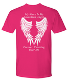 Niece Guardian Angel T-Shirt