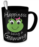 Happiness is being a Grammy - Mug Black