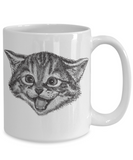 Cute Cat Coffee Mug For Animal Lovers and Cat Lovers