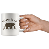 Mama Bear and Papa Bear 11 oz Coffee Mugs