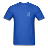 Nurse Flag Gildan Ultra Cotton Adult T-Shirt (CK1213) - royal blue