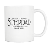 Best Stepdad Coffee Mug - Funny Fathers Day Gift For Step Dad
