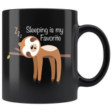 Cute Sloth Coffee Mug Sleeping is My Favorite