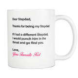 Dear Stepdad - Coffee Mug