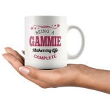 Being a Gammie Makes My Life Complete 11 oz Coffee Mug