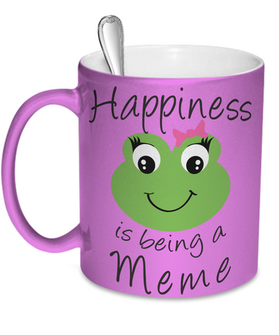 Happiness is being a Meme - Mug Metallic