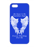 Sister Guardian Angel Phone Case