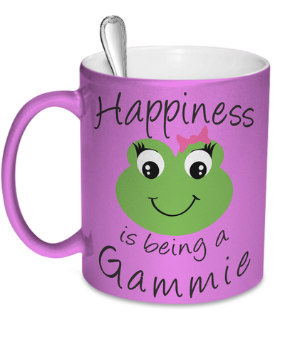 Happiness is being a Gammie - Mug Metallic