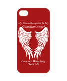 Granddaughter Guardian Angel Phone Case