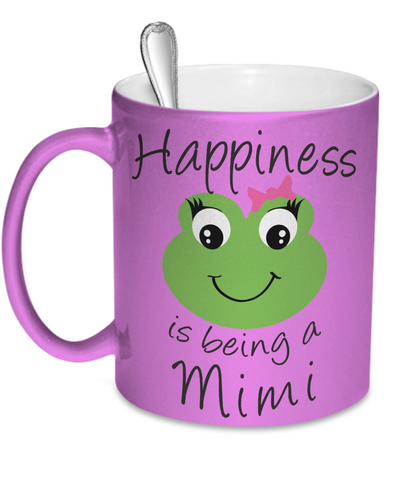 Happiness is being a Mimi - Mug Metallic