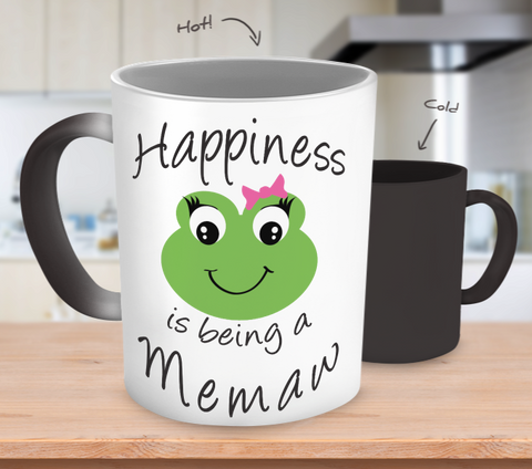 Happiness is being a Memaw - Mug Color Changing