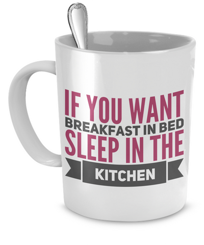Breakfast in Bed Mug
