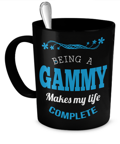 Being a Gammy Makes My Life Complete Mug