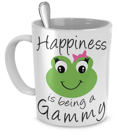 Happiness is being a Gammy - Mug White