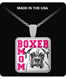 Boxer Mom Necklace