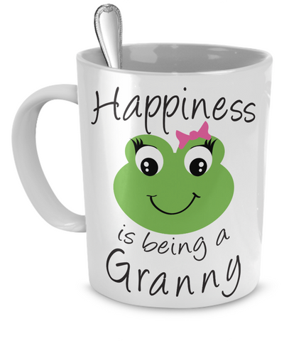 Happiness is being a Granny - Mug White