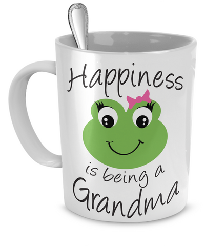Happiness is being a Grandma - Mug White