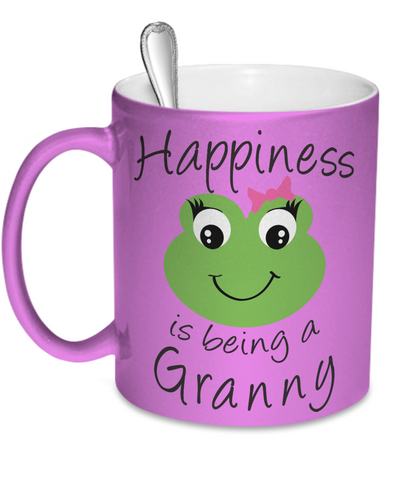 Happiness is being a Granny - Mug Metallic