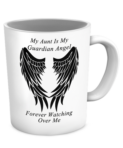 Aunt Guardian Angel Mug