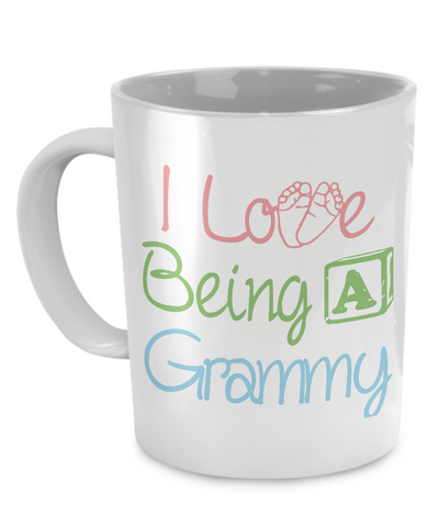 I love being a Grammy Mug
