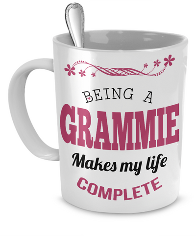 Being a Grammie Makes My Life Complete Mug