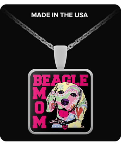 Beagle Mom Pendant
