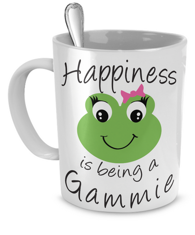Happiness is being a Gammie - Mug White