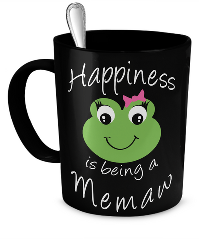 Happiness is being a Memaw - Mug Black