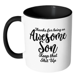 Awesome Son Coffee Mug - Gift For Son