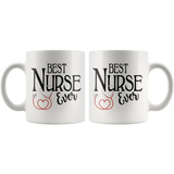 Best Nurse Ever 11 oz White Coffee Mug