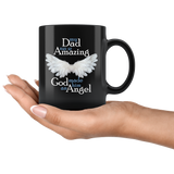 Dad Angel Memorial Coffee Mug