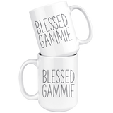 Blessed Gammie 15 oz White Coffee Mug