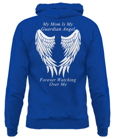 Mom Guardian Angel - Adult Hoodie