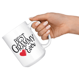 Best Grammy Ever 15 oz White Coffee Mug