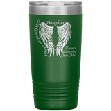 Daughter Guardian Angel 20oz Tumbler