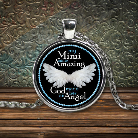 My Mimi Amazing Angel Necklace
