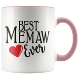 Best Memaw Ever 11 oz Acdent Coffee Mug