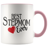 Best Stepmom Ever 11 oz Accent Coffee Mug