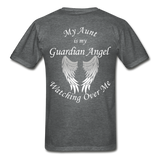 Aunt Guardian Angel Gildan Ultra Cotton Adult T-Shirt (CK1352U) - deep heather