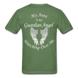 Aunt Guardian Angel Gildan Ultra Cotton Adult T-Shirt (CK1352U) - military green
