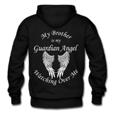 Brother Guardian Angel Pullover Hoodie (CK1354) - black