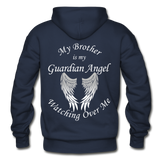 Brother Guardian Angel Pullover Hoodie (CK1354) - navy