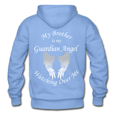 Brother Guardian Angel Pullover Hoodie (CK1354) - carolina blue