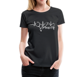 #Nurselife Women's Premium T-Shirt (CK1396) - black
