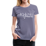 #Nurselife Women's Premium T-Shirt (CK1396) - washed violet