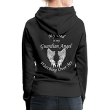 Dad Guardian Angel Women's Premium Hoodie (CK1401-W) - black