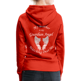 Brother Guardian Angel Women's Premium Hoodie (CK1404W) - red