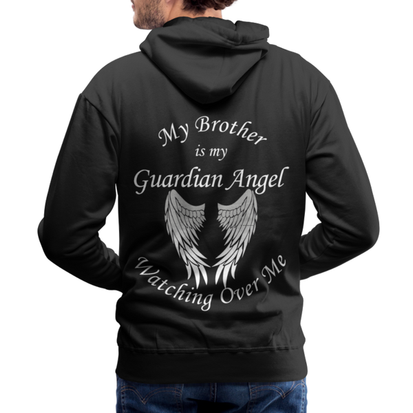 Brother Guardian Angel Men's Premium Hoodie (CK1404M) - black