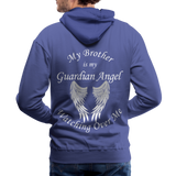 Brother Guardian Angel Men's Premium Hoodie (CK1404M) - royalblue