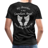 Brother Guardian Angel Men's Premium T-Shirt (Ck1415) - charcoal gray